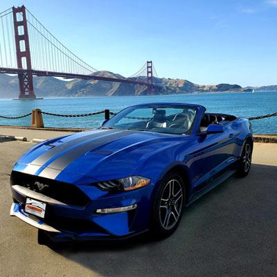 Convertible Mustang